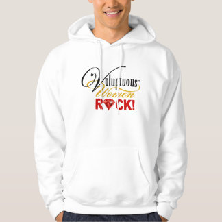 "CHICAGO BLING - ""Voluptuous Women Rock!"" Hoodie"