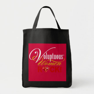 "CHICAGO BLING - ""Voluptuous Women Rock!"" Tote Bag"