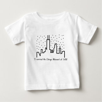 Chicago Blizzard 2011 - Baby T-shirt