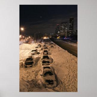 Chicago Blizzard 2011 Poster