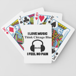 Chicago Blues Bicycle Playing Cards