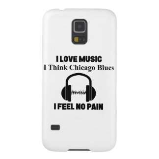 Chicago Blues Case For Galaxy S5