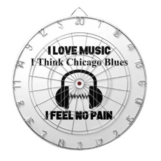 Chicago Blues Dartboard