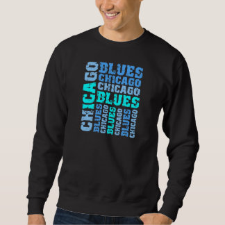 CHICAGO BLUES SWEATSHIRT