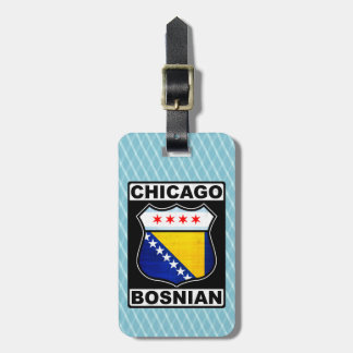 Chicago Bosnian American Luggage Tag Template
