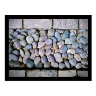 chicago botanic garden :: rock path postcard