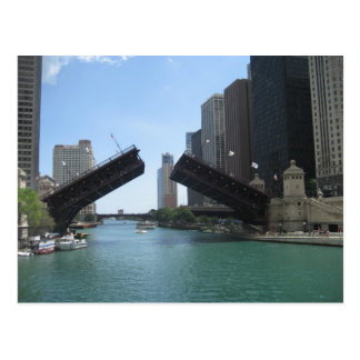 Chicago-Bridge and River Post Cards