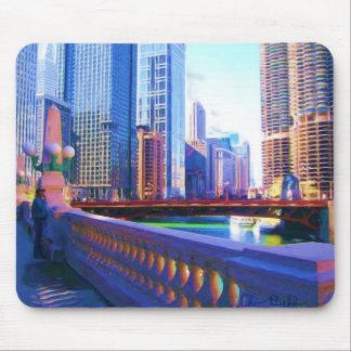 Chicago Bridge Mousepad