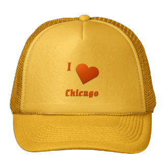 Chicago -- Burnt Orange Trucker Hat