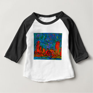 Chicago Burst Baby T-Shirt