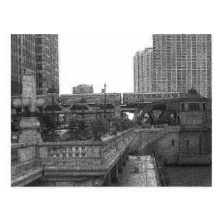 Chicago...by the River Postcards