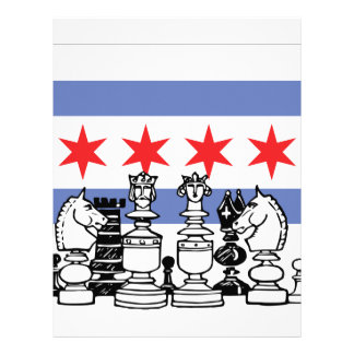 Chicago Chess Letterhead Design