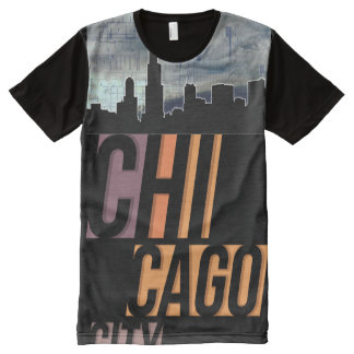 Chicago City (Chi Town) II All-Over-Print T-Shirt
