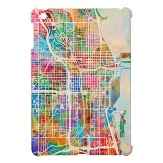 Chicago City Street Map Case For The iPad Mini