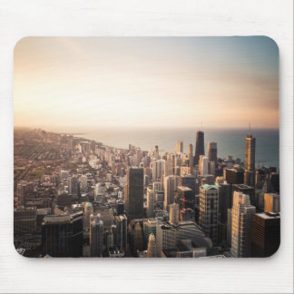 Chicago cityscape mouse pad