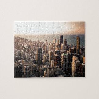 Chicago cityscape puzzle