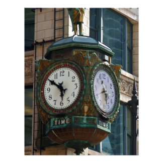 Chicago Clock Letterhead