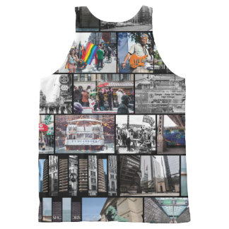 Chicago Collage All-Over-Print Tank Top