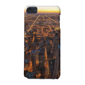 Chicago downtown at sunset iPod touch (5th generation) cases