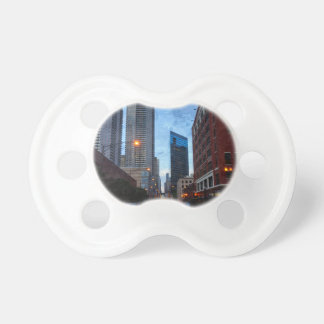 Chicago Evening Drive Pacifier