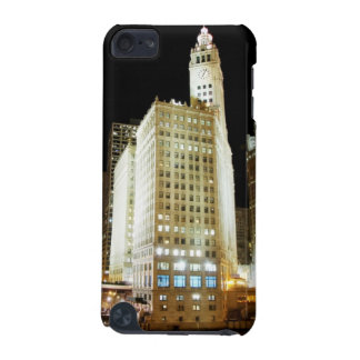 Chicago famous landmark at night iPod touch (5th generation) covers