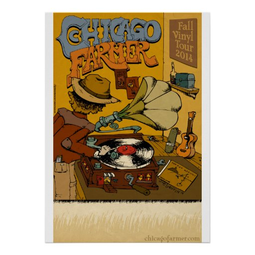Chicago Farmer Record Release Poster