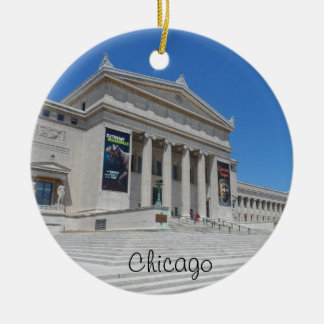 Chicago Field Museum Ceramic Ornament