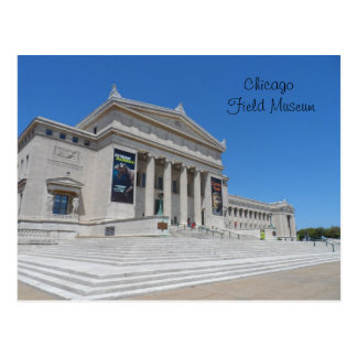 Chicago Field Museum Postcard