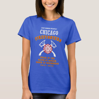 Chicago Firefighters Ladies tshirt