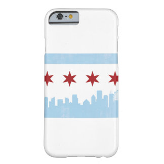Chicago Flag and Skyline Phone Case