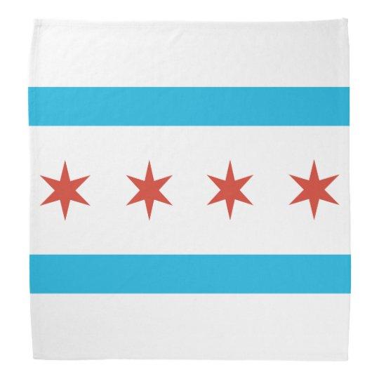 Chicago Flag Bandana