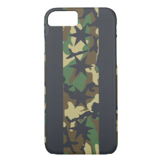 Chicago Flag Camouflage iPhone 7 Case