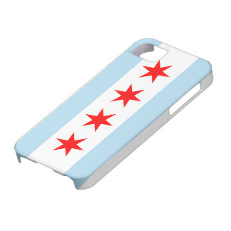 Chicago Flag Case-Mate iPhone 5 Barely There Case