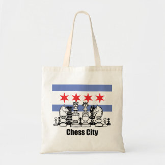 Chicago Flag & Chess Board