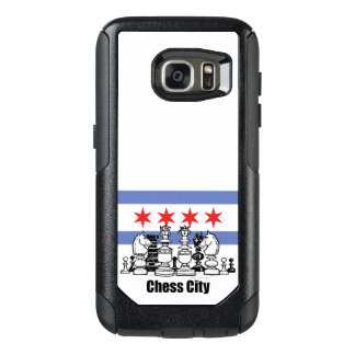 Chicago Flag & Chess Board OtterBox Samsung Galaxy S7 Case