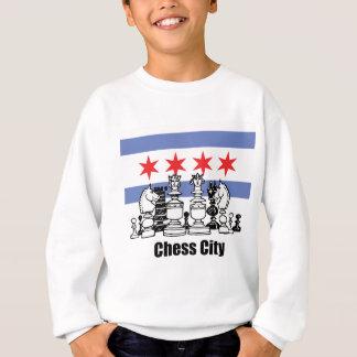 Chicago Flag & Chess Board Sweatshirt