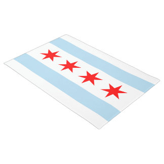 Chicago Flag Doormat