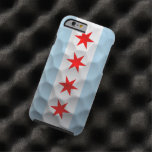 Chicago Flag Golf Ball Pattern