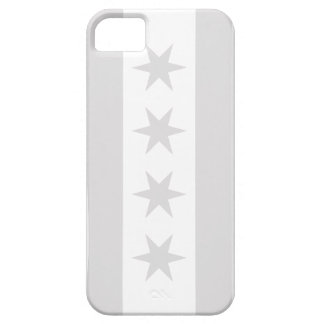 Chicago Flag Grey - iPhone 5 iPhone 5 Case
