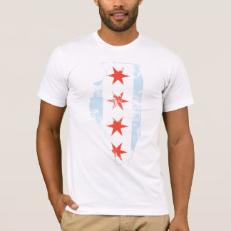 Chicago Flag Illinois t shirt