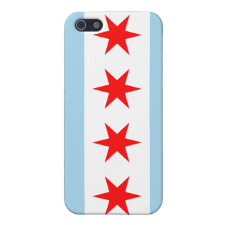 Chicago Flag iPhone 5/5S Cases