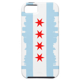 Chicago Flag iPhone 5 Case-Mate Tough™