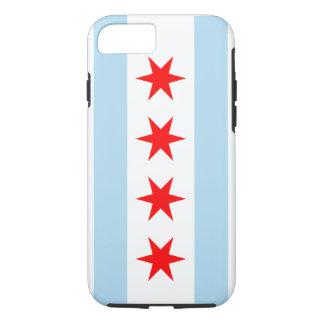 Chicago Flag - Iphone 7 Case (Tough Case)