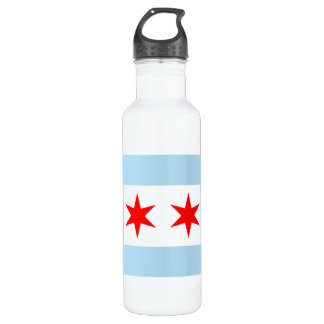 Chicago Flag Liberty Bottle
