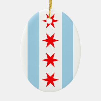 Chicago Flag ornament