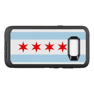 Chicago flag OtterBox defender samsung galaxy s8+ case