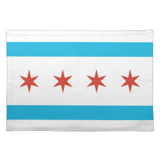 Chicago Flag Placemat