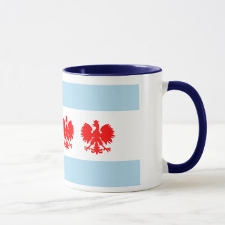 Chicago Flag Polish style mug
