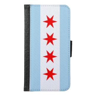 Chicago Flag Samsung Galaxy S6 Wallet Case