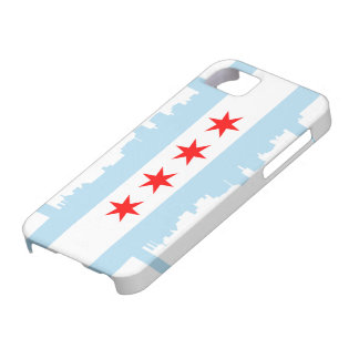 Chicago Flag Skyline Case-Mate iPhone 5